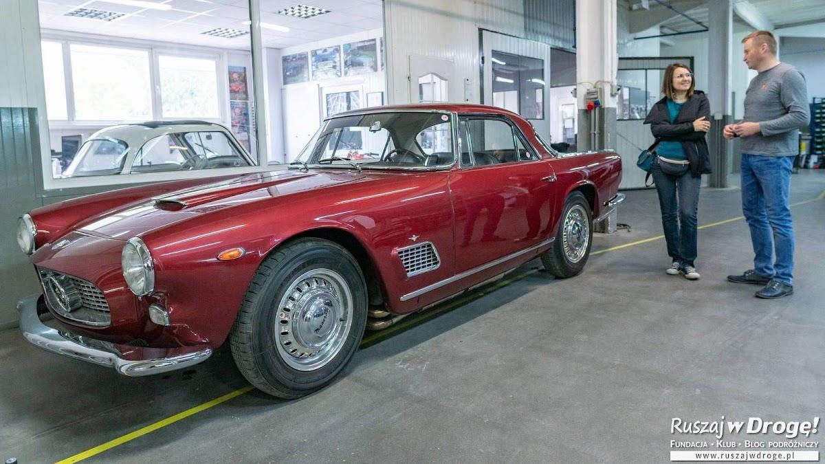 Zakład MBL Classics w Piotrkowie Trybunalskim odnawia wraki aut