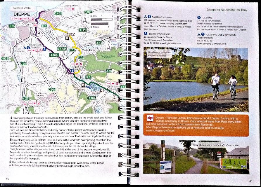 Extrait Guide Sustrans - Paris Londres à vélo par veloiledefrance.com