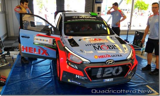 Rally Italia Sardegna Hyundai i20