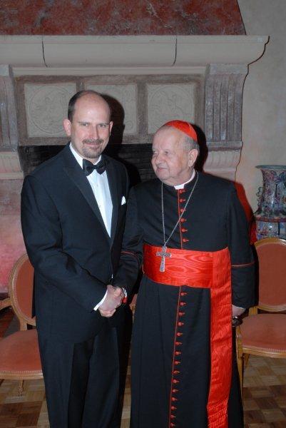 Kardynal Stanislaw Dziwisz and Orest Melnyk