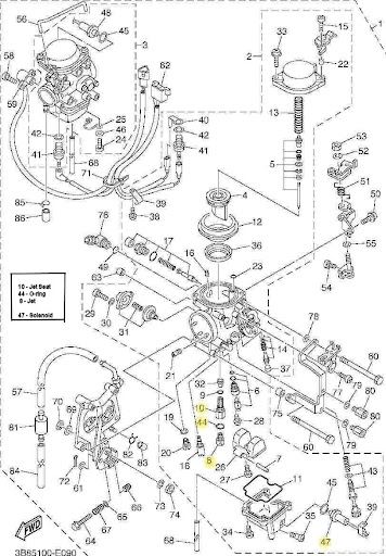 V Twin Briggs And Stratton Throttle Linkage Diagram, V