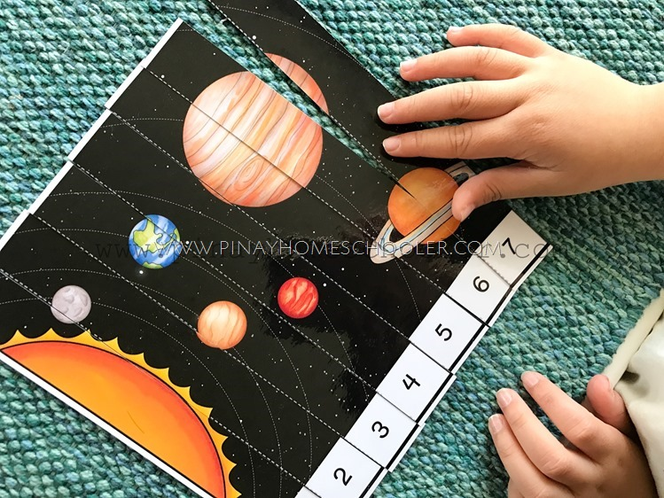 Space Themed Number Puzzles