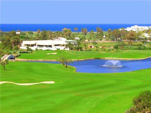 Поля для гольфа в Порт-Эль-Кантауи