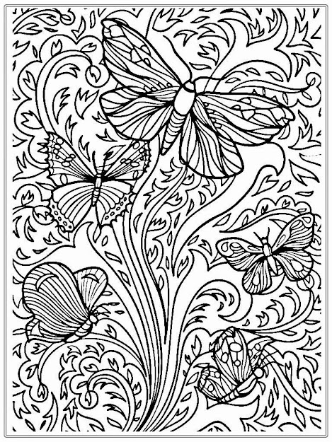 Coloring Pages Printables Nature  Free Printable Adult Coloring Pages  Nature Gianfreda Printable Adult Coloring Pages