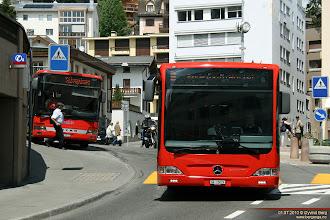Photo: GR 15029 på Schulhausplatz, St. Moritz, 01.07.2010.