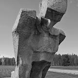 Скульптура Несломленный (Мемориал на месте Саласпилского концентрационного лагеря)