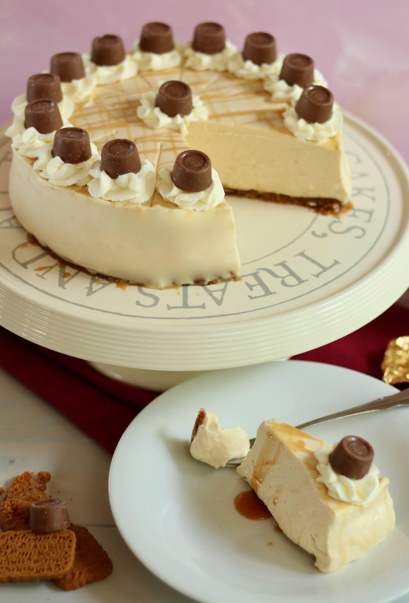 😋 Cremige Karamell Torte ohne Backen: Fantastische Rolo-Torte! 😋 | Rezept und Video von Sugarprincess 😋