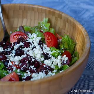 Greek Salad Dressing With Feta Cheese Recipes.
