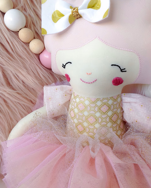 Snow White Heirloom Doll from my Duchess Collection by Rhapsody and Thread