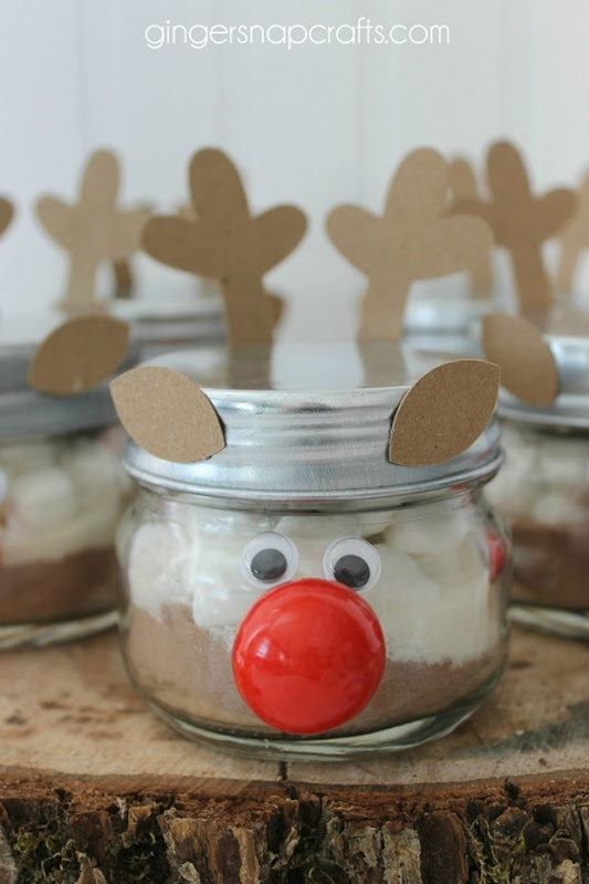 hot cocoa gift idea for Christmas