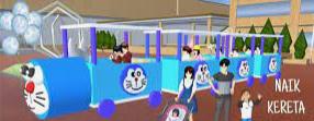 ID Odong-Odong Doraemon Di Sakura School Simulator