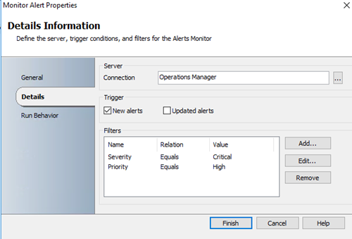 How to configure SCOM HTML Notification Alerts from