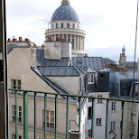 view from my balcony of the pantheon in Paris, Paris - Ile-de-France, France