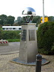 82nd Airborne memorial next to the bridge