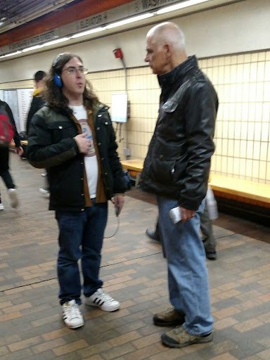 This is Scott, a Jewish young man who had good questions, and seemed to listen to Eric's answers.