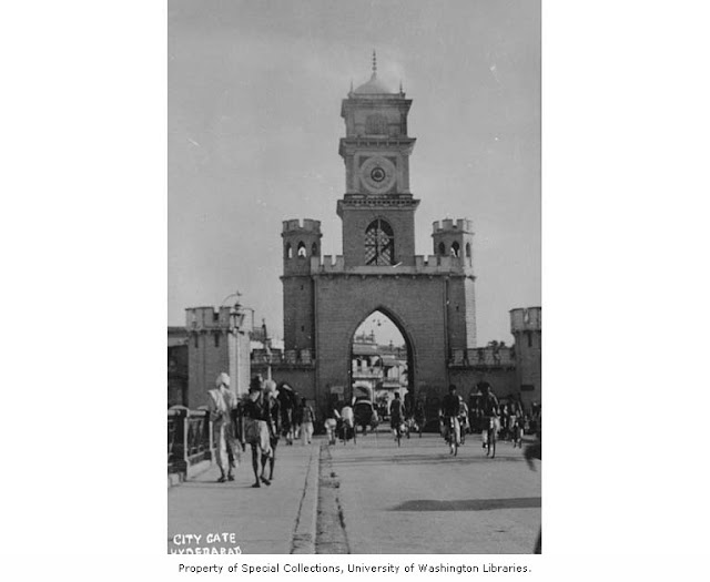 Hyderabad - Rare Pictures - Gated%2Bentrance%2Bto%2Bthe%2Bcity%2Bof%2BHyderabad.jpeg