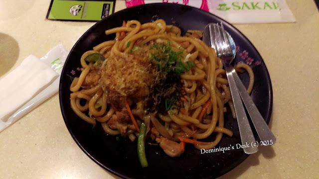 Yaki Udon for Dinner