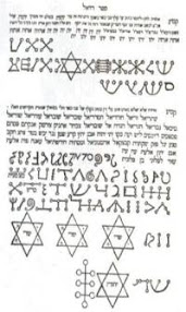 Cover of John Dee's Book Liber Loagaeth Or Mysteriorum Liber Sextus et Sanctus