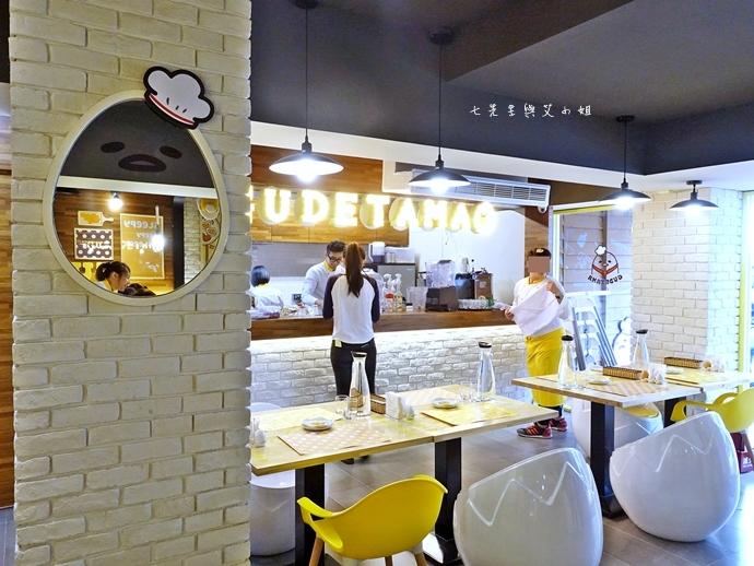 10 Gudetama Chef 蛋黃哥五星主廚餐廳 台北東區美食