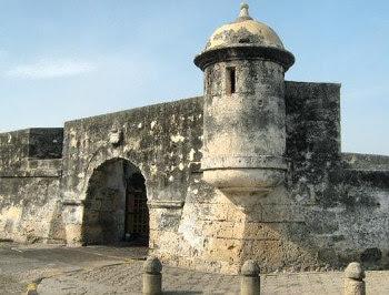 Fuerte San Sebatstian de Pastelillo en Cartagena de Indias