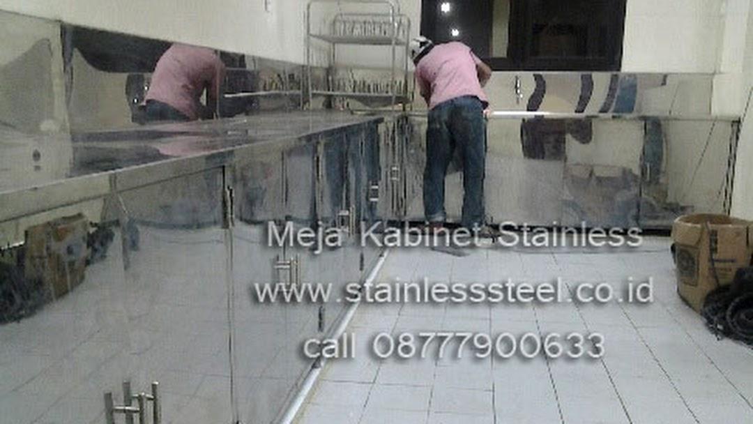 Kitchen Equipment Rak Piring Stainless Meja Stainless Lemari