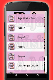 Bajar Musica MP3 A Mi Celular Gratis Guide- screenshot thumbnail