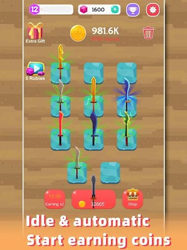 Merge Sword - Idle Blacksmith Master 1.3.4 screenshots 8