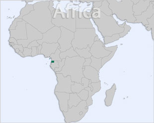 Equatorial Guinea location map