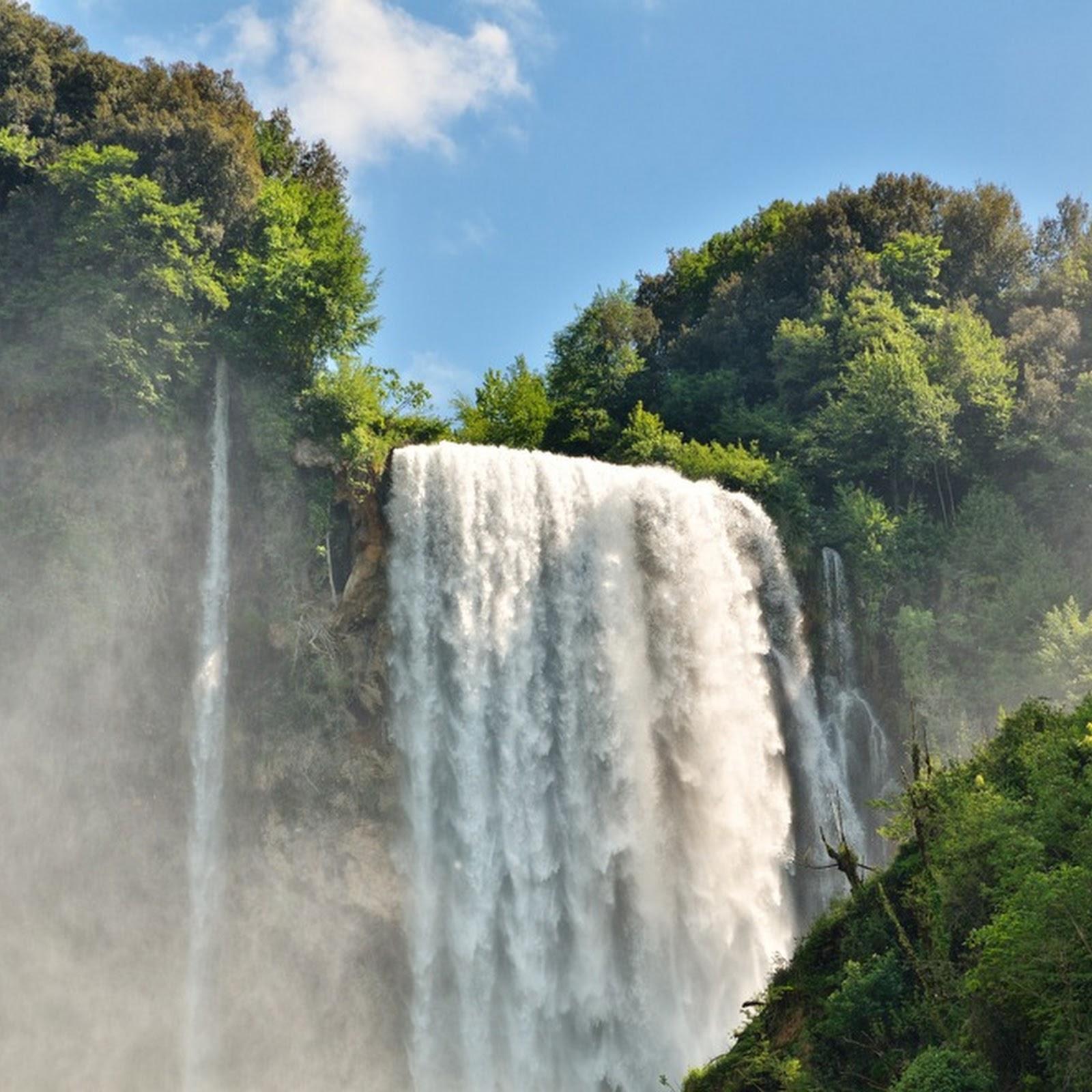 Cascata delle Marmore: A Man-Made Waterfalls Created by Ancient Romans