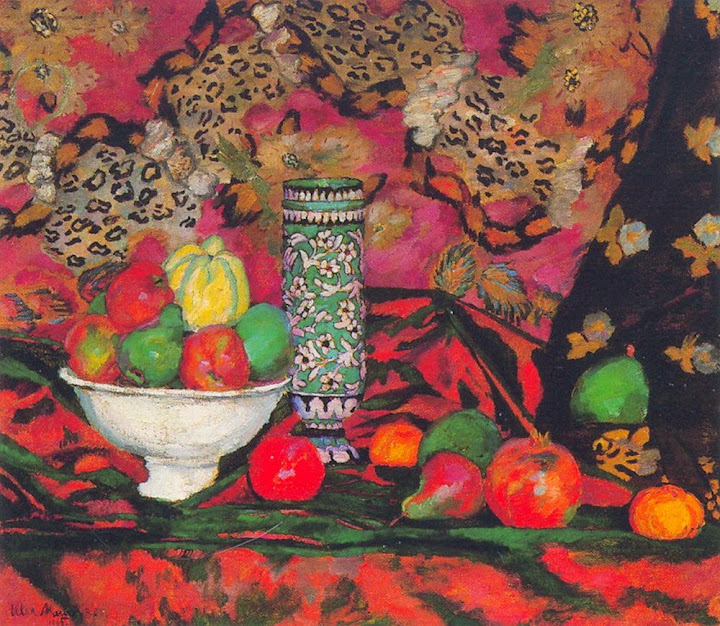 Ilya Mashkov - Still life with fruits