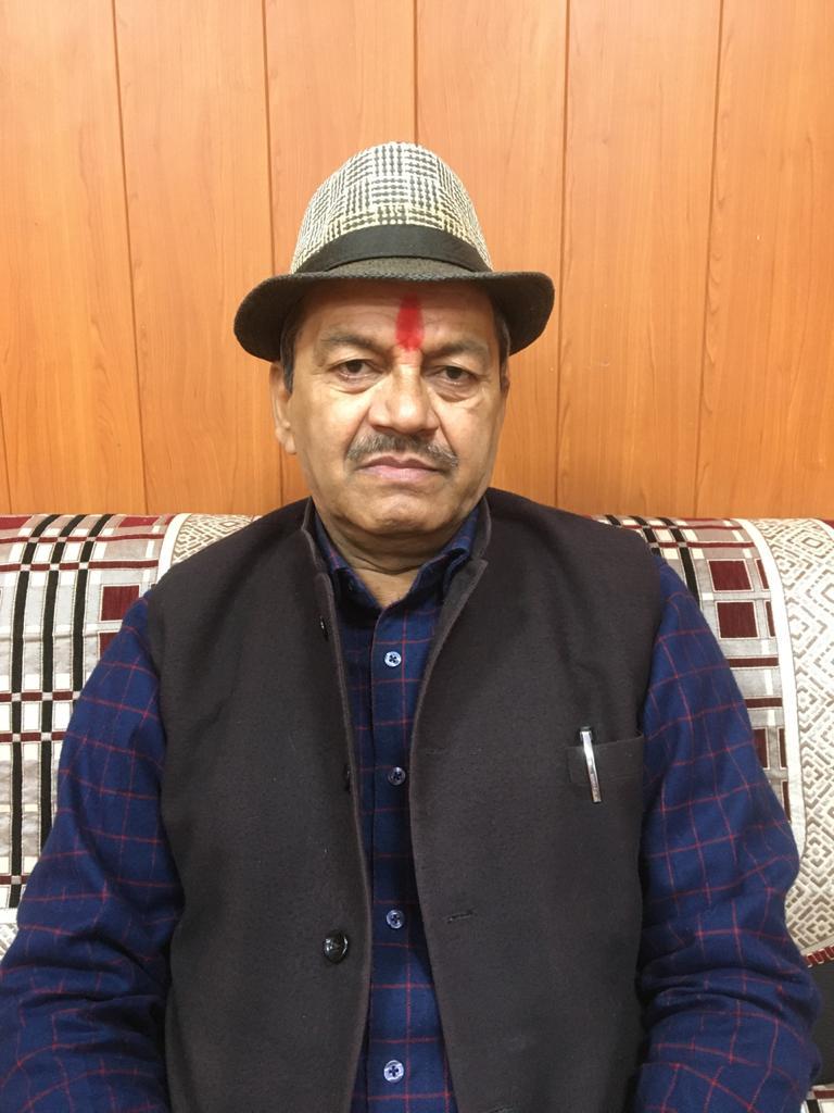 कांग्रेस के वरिष्ठ नेता रमेश पांडे ने नए वर्ष पर लोगों की दी शुभकामनाएं