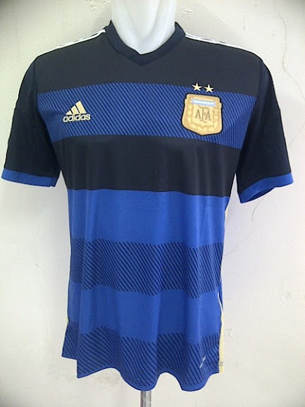 Jual Jersey Argentina Away Piala Dunia 2014