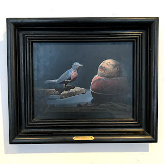 Priscilla Roberts 'Automation' Signed Oil