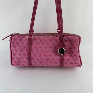 Dooney & Bourke Pink Logo Bag