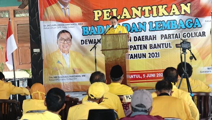 Pelopori Pencapresan Airlangga Hartarto, DPD Golkar DIY : Ideologi Pancasila Harus Terjaga