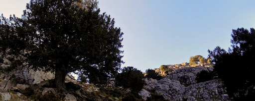 Dans le contournement du Capu di Vegnu