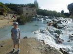 2 et 3 09 15 - les cascades de Saturnia et le lac de Bracciano