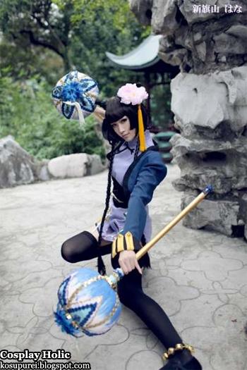 kuroshitsuji cosplay - ran-mao by hana mcdowell