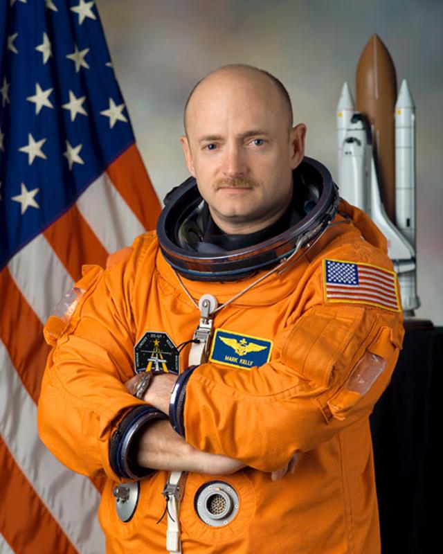 NASA astronaut Mark E. Kelly, commander. Photo: NASA