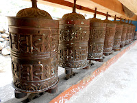 First prayer wheels of many