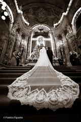 Foto 0877pb. Marcadores: 29/10/2011, Casamento Ana e Joao, Lethicia Bronstein, Rio de Janeiro, Veu, Veu de Noiva