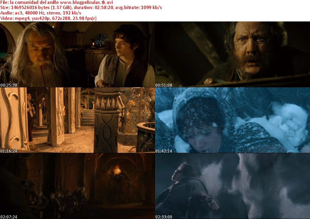 The Lord of the Rings: The Fellowship of the Ring …