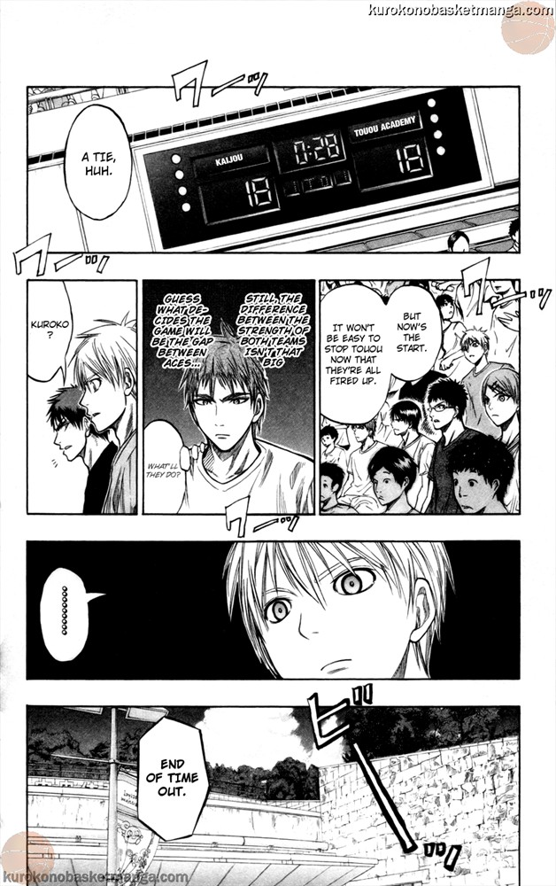 Kuroko no Basket Manga Chapter 67 - Image 6