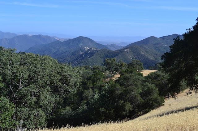 ridge and trail of Alejandro