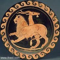Χίμαιρα στη μυθολογία ήταν φοβερό τέρας που εξέπνεε φωτιά, είχε σώμα κατσίκας, κεφάλι λιονταριού, και ουρά του κατέληγε σε φίδι.