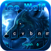 Ice wolf keyboard