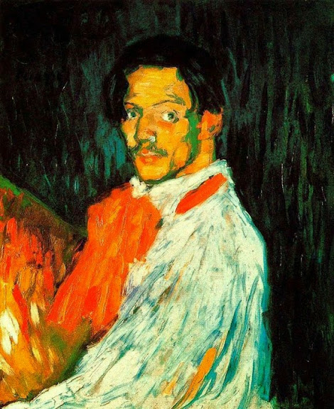 Pablo Picasso - Self-Portrait-1901
