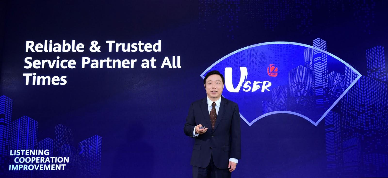 Huawei เผยเส้นทางสู่การเป็น Partner ในการให้บริการที่น่าเชื่อถือและพึ่งพาได้