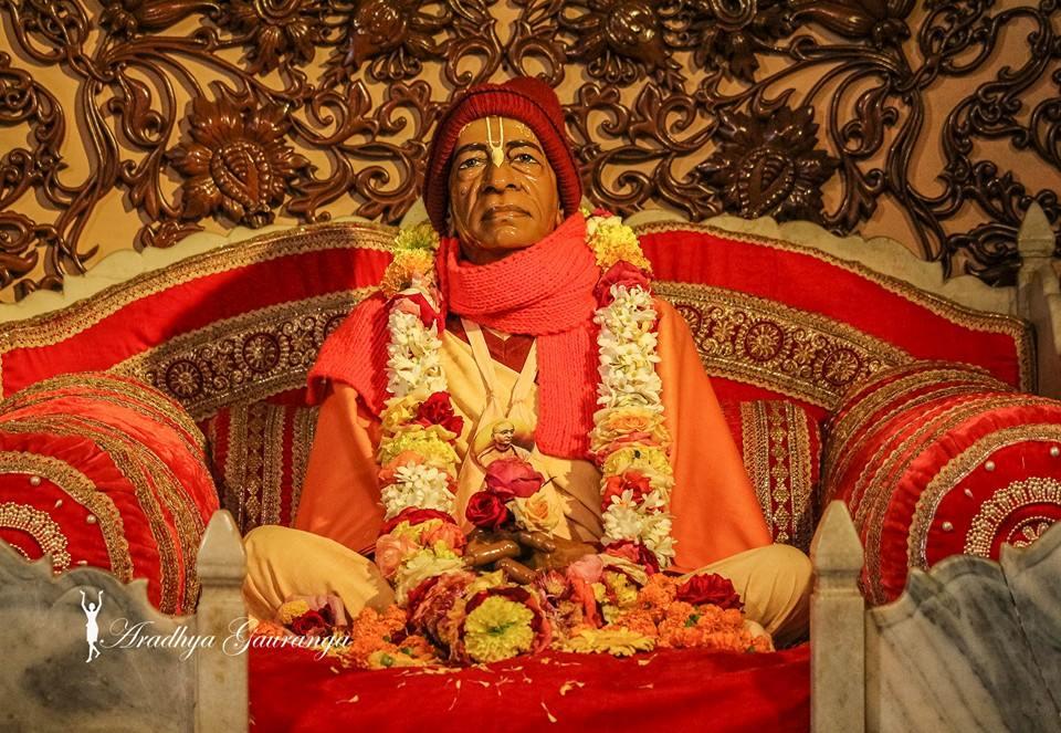 ISKCON Mayapur Deity Darshan 06 Jan 2015 (2)