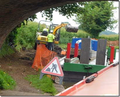 4 towpath lock mooring works